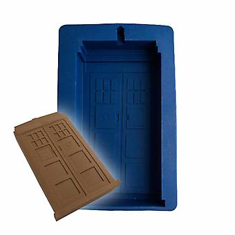 Doctor Who Tardis in Silicone Cake Mould