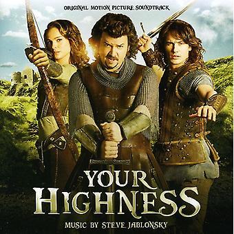 Steve Jablonsky - Your Highness [Original Score] [CD] USA import