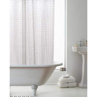 Country Club 3D Clear Shower Curtain