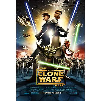 Star Wars il Clone guerre Movie Poster (11x17)
