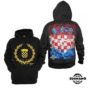 Zoonamo Hoodie Croatia of classic