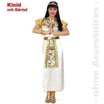 Cleopatra naisten puku Nofretete Egyptin puku Pharaonin naiset