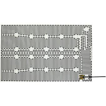 Chauffage de Polyester thermo feuille autocollante 230 V AC 85 W estimation d'IP IPX4 (L x L) 560 x 350 mm