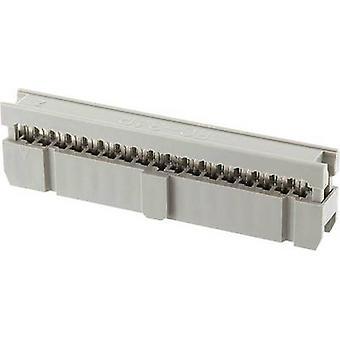 ECON forbinde Pin stik kontakt afstand: 2,54 mm samlede antal stifter: 14 nr. rækker: 2 1 computer(e) bakke