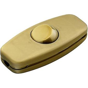 interBär 5052-010.01 Pull switch Gold 2 x Off/On 2 A 1 pc(s)