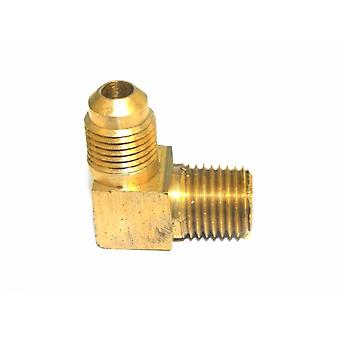 "Big A Service Line 3-14954 90 deg Male To Male Elbow Brass Fitting 5/16"" x 1/4"""