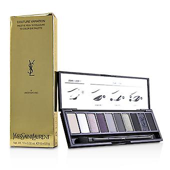 Yves Saint Laurent Couture Variation 10 Color Eye Palette - # 04 Underground - 10x0.02g/0.5g