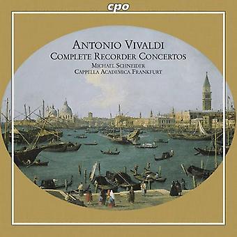 A. Vivaldi - Vivaldi: Komplett Recorder Concertos [CD] USA import