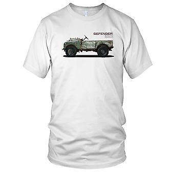Land Rover Defender 110 SAS forças especiais Desert Jeep feminina T-Shirt