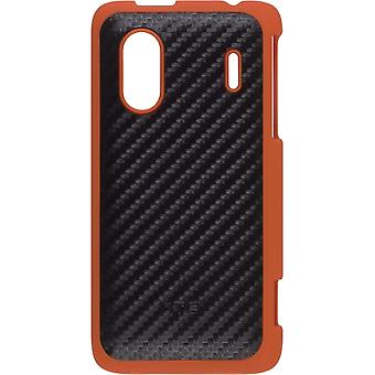 5 Pack - HTC Hartschale Case für HERO S, EVO 4G - Schwarz/Orange Design