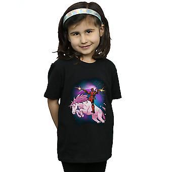 Marvel Girls Deadpool Space Unicorn T-Shirt