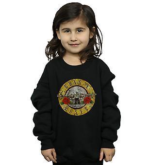 Guns N' Roses meninas Vintage bala Logo moletom
