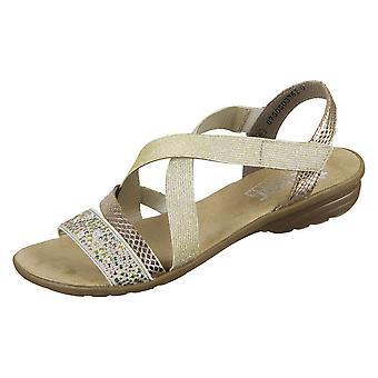 Rieker V346360 scarpe da donna estive universali