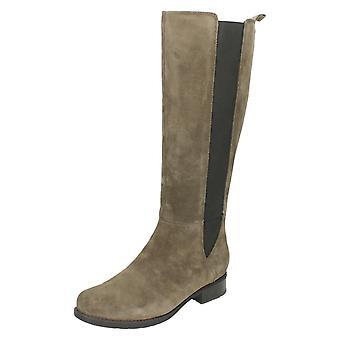Ladies Clarks Smart Long Boots Verlie Gail