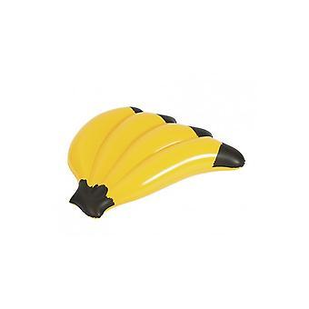 Seizoensgebonden artikelen opblaasbaar zwembad float matras bananen 139 x 129
