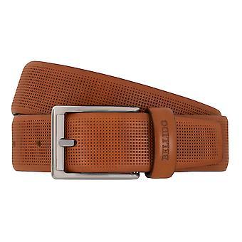 MIGUEL BELLIDO clasico belts men's belts leather belt camel 7693