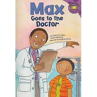 Max menee lääkäriin