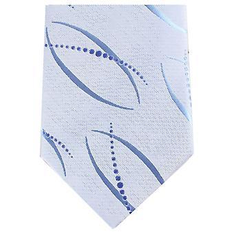 Knightsbridge halsdukar unika vanlig Polyester Tie - ljusblå
