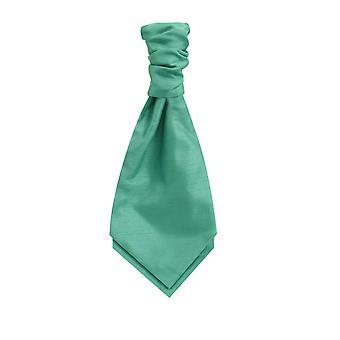Dobell gutter mynte grønne Cravat Party bryllup Fancy kjole tilbehør Dupion
