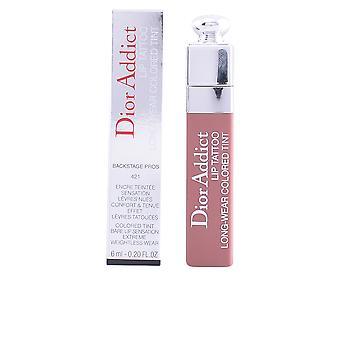 Diane Von Furstenberg Dior Addict Lip Tattoo #421-natural Beige 6 Ml For Women