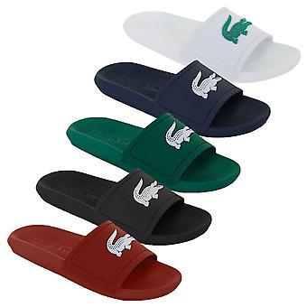 Lacoste Mens Croco Diapositiva 119 1 CMA Flip Flops