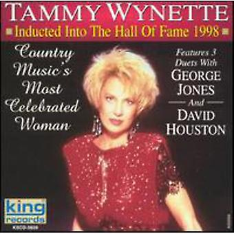 Tammy Wynette - 1998-Country Music Hall of Fam [CD] USA import