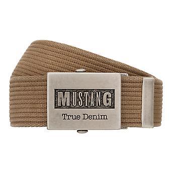 MUSTANG Belt Textile Belt Homme ceinture en denim 8049