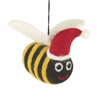 Felt Bumble Bee Hanging Decoration| Gifts From Handpicked