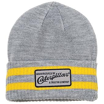 Caterpillar Mens Dillon Beanie Grey/Yellow