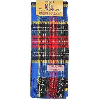 Bufanda de lana de cordero - MacBeth Tartán moderno