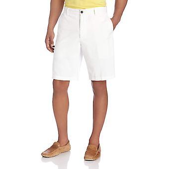 Dockers Men's Classic Fit Perfect Short Cotton D3, White Cap),, White, Size 38