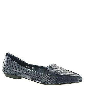Silent D Womens Gyross Leather Pointed Toe Loafers