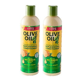 Organic Root Stimulator Olive Oil Replenishing Conditioner (2-PACK)