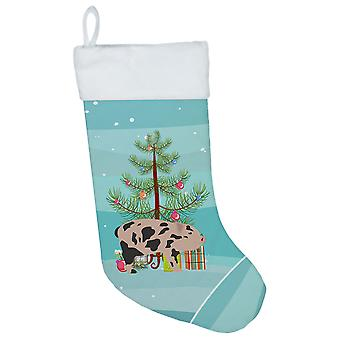 Carolines Treasures  BB9302CS Mini Miniature Pig Christmas Christmas Stocking