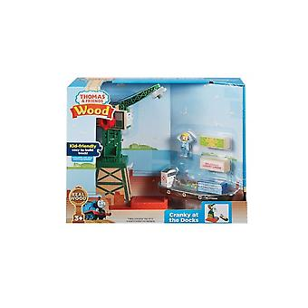 Fisher Price Thomas Wood - Cranky At The Docks