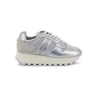 Bikkembergs-pantofi-adidași-FEND ER_2087 MESH_WHT-SLVR-femei-shite, argintiu-41