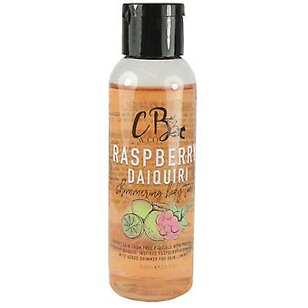 CB & Co skimrende Body tonic bringebær daiquiri 100 ml