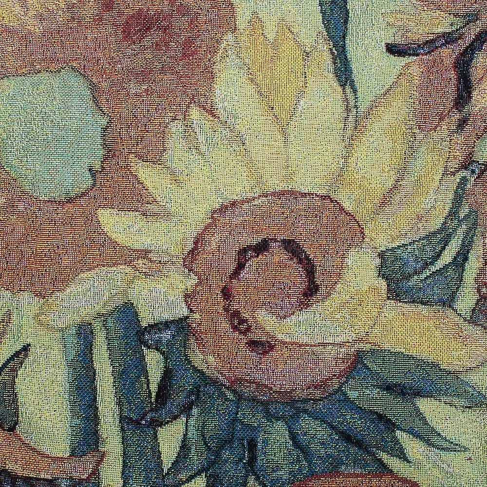 Van gogh- sunflowers wall hanging by signare tapestry / 95cm x 139cm / wh-vg-sf