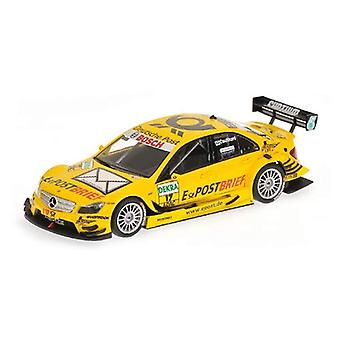 Mercedes Benz C-Class AMG (David Coulthard-Deutsche Post 2011) Diecast malli auto
