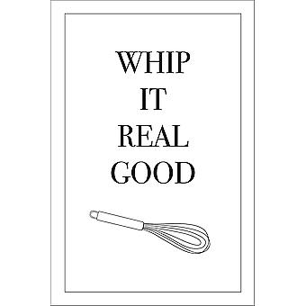 Poster Whip It Real Good K³chen Song Poster 20 x 30 cm petit format 30 x 20 cm
