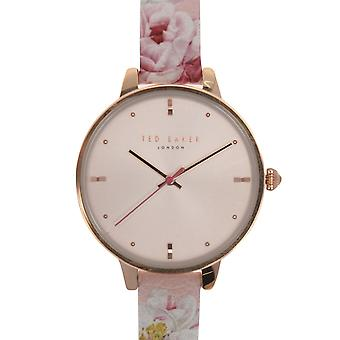 Ted Baker Womens Floral Strap Watch