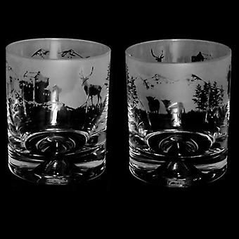 Animo Glass Crystal Whisky Tumbler 30cl - Scottish