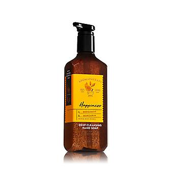 Bath & Body Works Happiness Bergamotto & Mandarin Deep Cleansing Hand Soap 8 oz / 236 ml ( 2 Lotto )