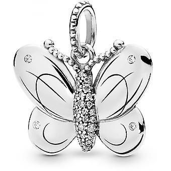Pandora 397933CZ animale - soldi donna farfalla ciondolo collana
