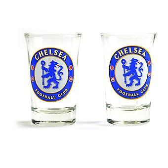 Chelsea FC kaksi Pack kotiin sana Mark Shot lasit