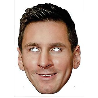 Lionel Messi Footballer kort Party ansiktsmask