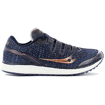 Saucony Freedom ISO S20355-30 Men's Running Shoes Blue Sneakers Sports Shoes