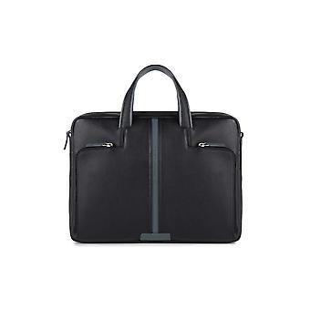 Briefcase Black Piquadro Man