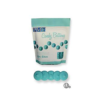 PME Candy Knappar smälter - 12oz 340g - Baby Light Blue