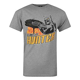 Star Wars Boba Fett Cloud City Men's T-Shirt